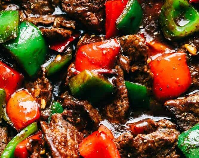 20 - Minute Pepper Steak Stir Fry