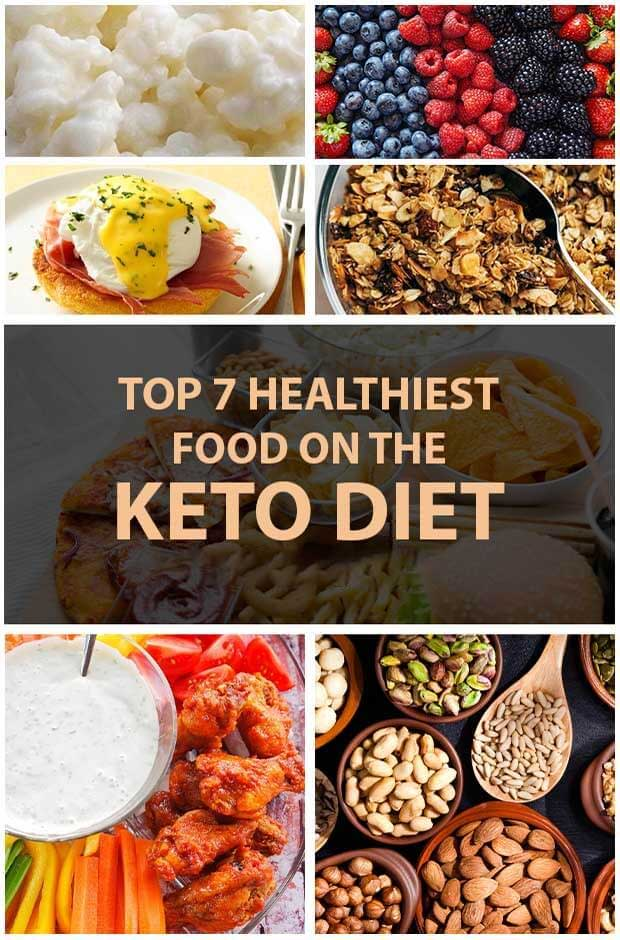Here Are Top 7 Healthiest Food On Keto Diet