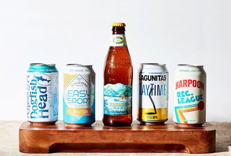 Low-carb beer