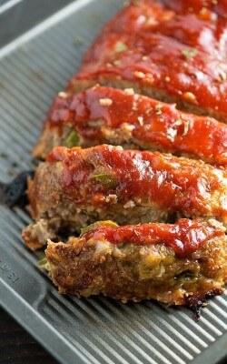 Parmesan Turkey Meatloaf