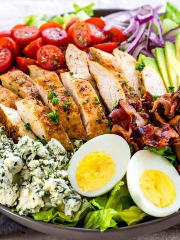Cobb Salad with Dijon Mustard