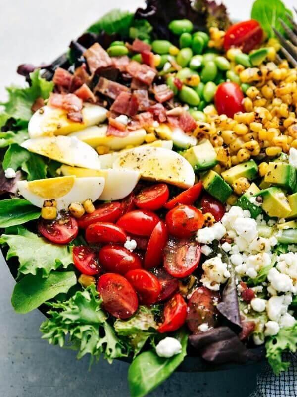 Cobb Salad with Herb Vinaigrette