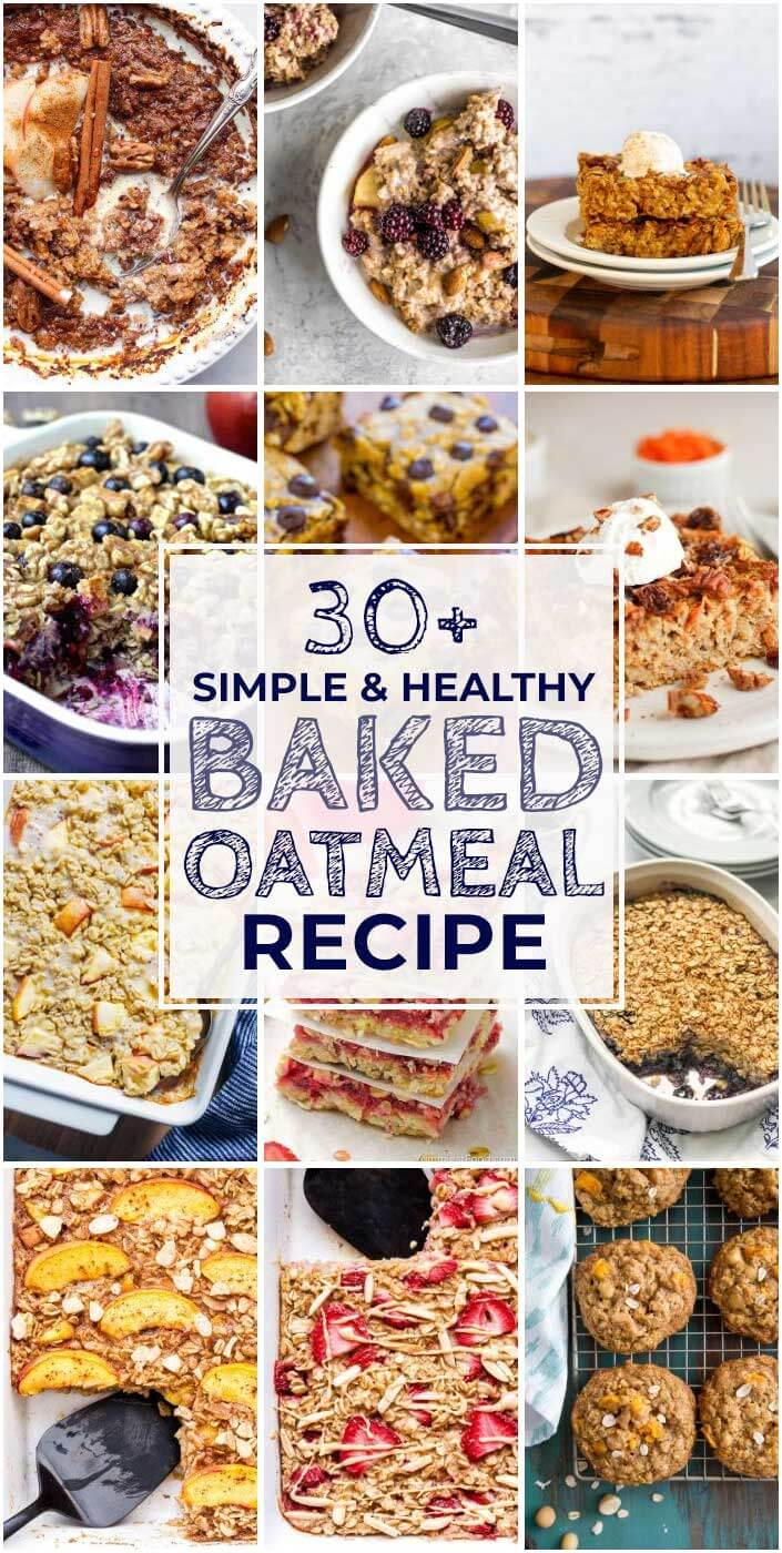 30 Must-Save Recipes For Baked Oatmeal