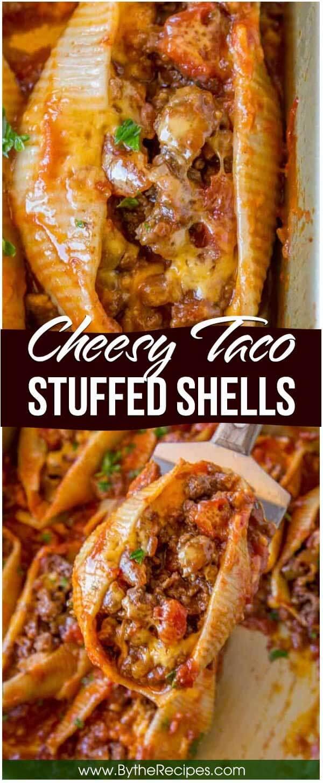 Cheesy Taco Stuffed Shells