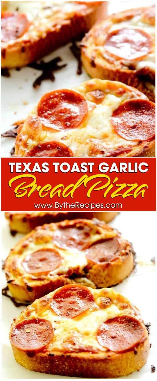 Texas Toast Garlic Bread Pizza