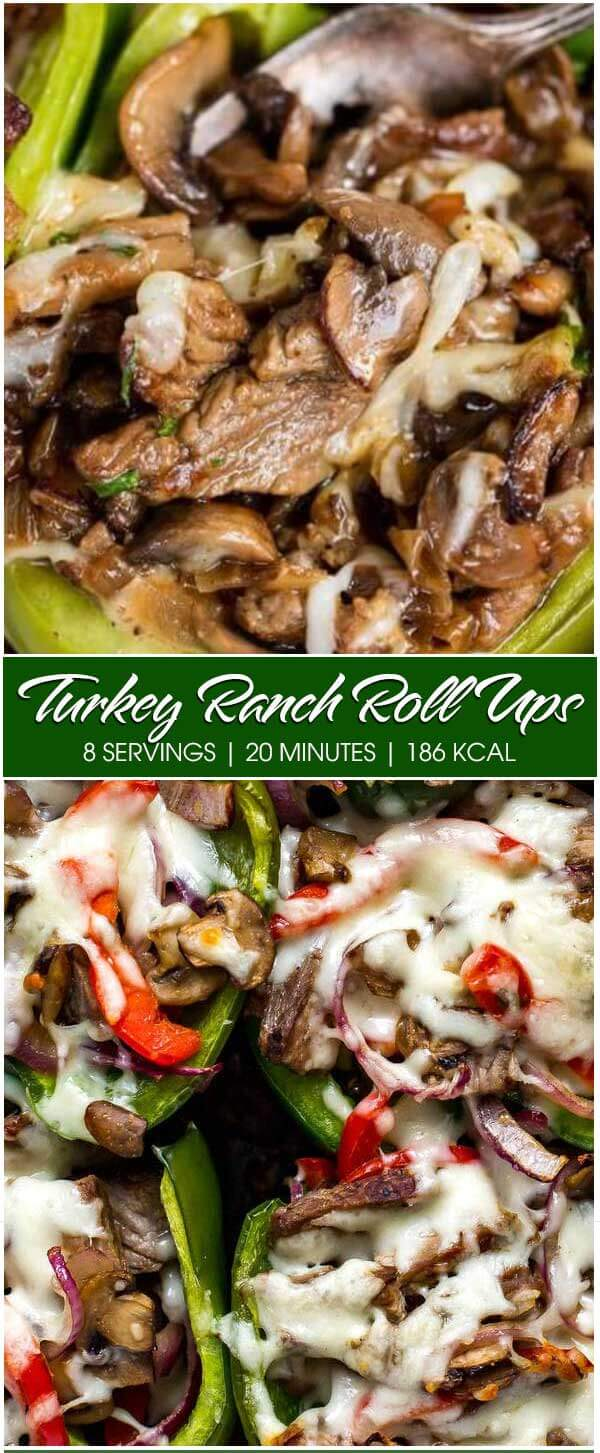 Turkey Ranch Roll Ups