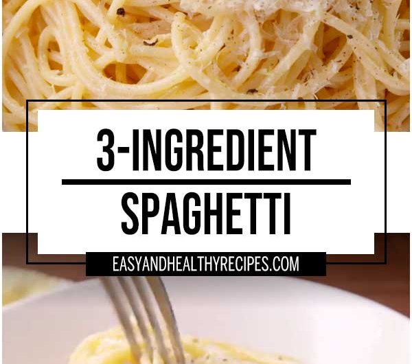 Three-Ingredient Spaghetti
