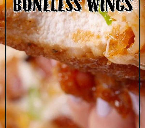 Loaded Boneless Wings