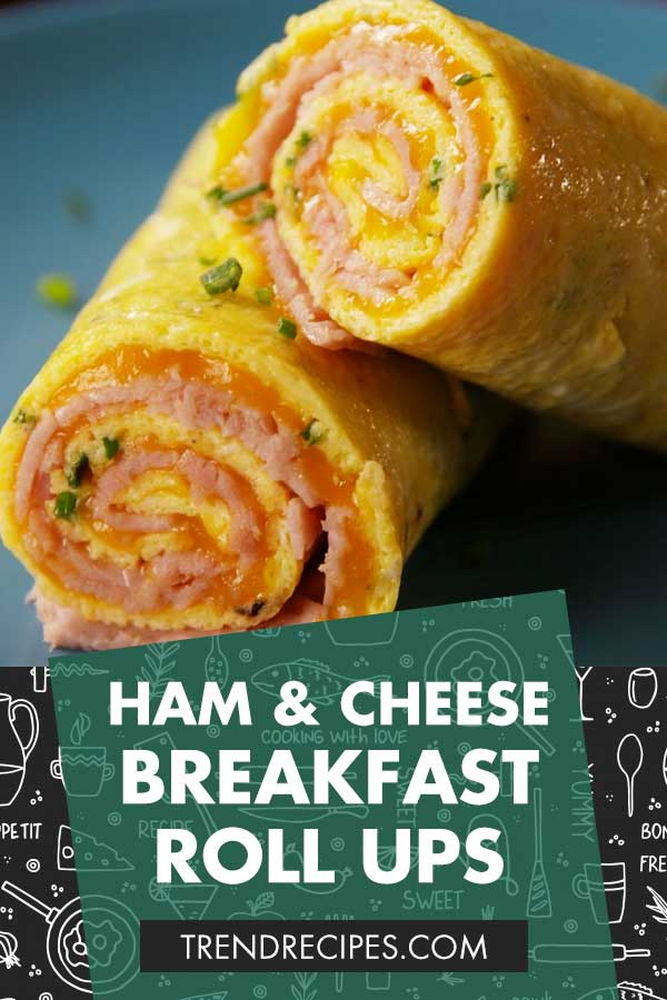 Ham-And-Cheese-Breakfast-Roll-Ups