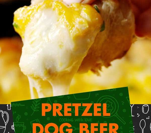 Pretzel Dog Beer Cheese Dip