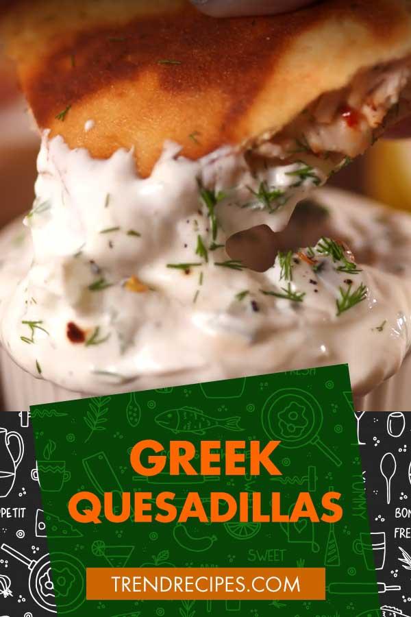 Greek-Quesadillas