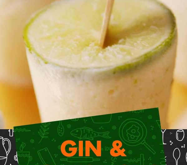 Gin & Tonic Pops