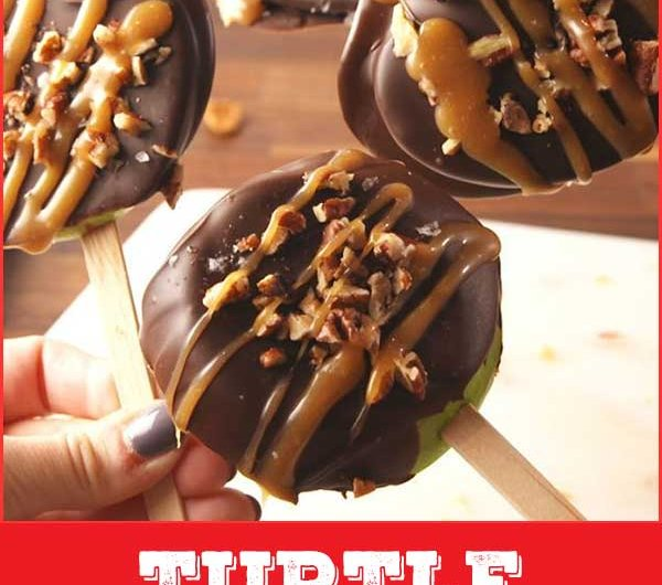 Turtle Apple Pops