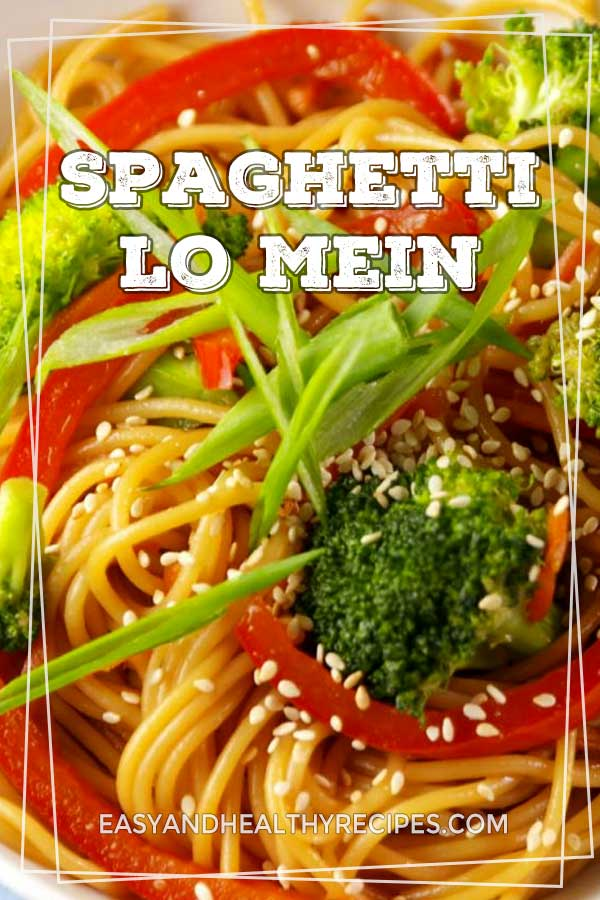 Spaghetti-Lo-Mein