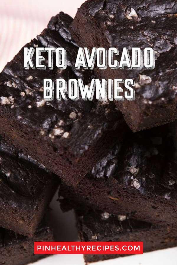Keto-Avocado-Brownies