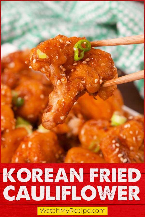 Korean-Fried-Cauliflower
