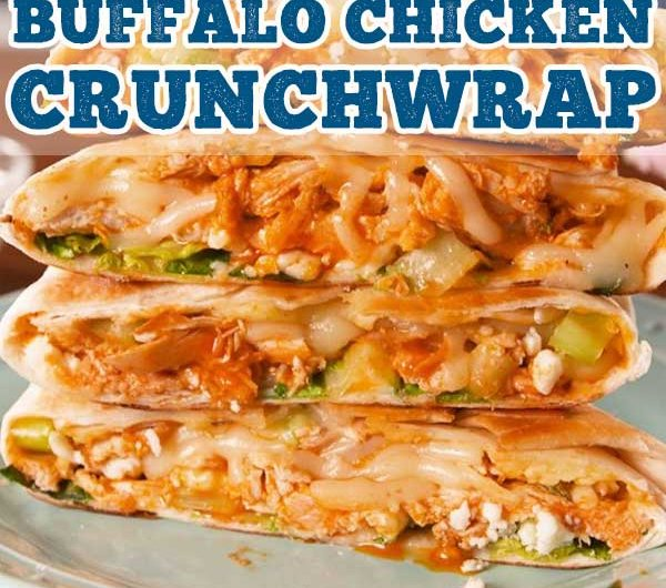 Buffalo Chicken Crunchwrap